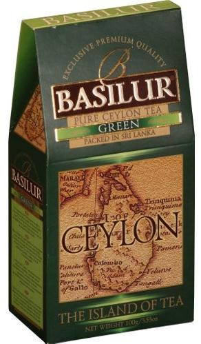 "Pure Ceylon Green Tea ""Ceylon"" from The Island of Tea Collection Loose 100g"