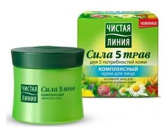 Complex Face Cream with Power of 5 herbs 45ml