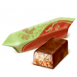 Candy with Soft Roasted Nut Filling and Light Nougat, 0.5 lb/ 0.22 kg
