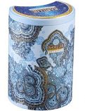 Basilur Ceylon Black Tea Oriental Collection Frosty Afternoon in Metal Caddy, 3.52 oz/ 100 g