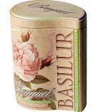 Tea Basilur Bouquet Cream Fantasy in Metal Caddy, 3.52 oz/ 100 g