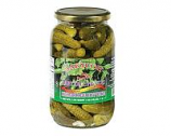 Marinated Baby Dill Pickles Zakuson, 33.8 oz/ 958 g