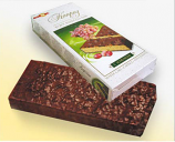"Chocolate Waffle Cake ""Caprise"" with Dried Grape, 9.17 oz/ 260 g"
