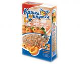 Kashka Minutka Oatmeal with Apricot, 5 Bags