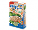 Kashka Minutka Oatmeal with Apple, 5 Bags