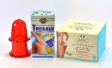 Anti Cellulite Massage Set of Plastic Cup and Drainage Body Wrapping