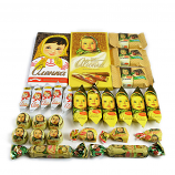Alyonka Set of 2 Chocolate Bars and Assorted Chocolate and Caramel Candy