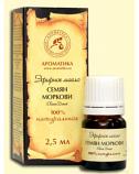 "Carrot Seed Essential Oil ""Aromatika"", 2,5 ml"
