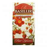 Tea Basilur: Strawberry and Raspberry 100g/3.53oz