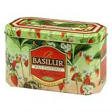 Basilur: Wild Strawberry 20x1.5g Green Tea
