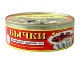 Bullheads in Tomato Sauce (Tin Can), 8.47 oz/ 240 g