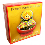 """From Russia with Love"" - MATRESHKA birds milk sweets. 500 gr/17.63 Oz"