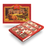 Chocolate Candies Gift Box Belovezhskaya Puscha, 1060 g