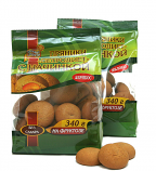 Gingerbread cookies with fructose and apricot filling 340g ***