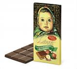 """Milk chocolate bar """"Alenka"""" with hazelnuts 100 g"""