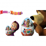 "Kinder Surprise ""Masha and the Bear"" 1psc"