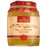 Honey Altai Natural 'May' 500g/1.1lb Berestov