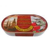 Baltic Sardines in Tomato Sauce, 6.7oz (190g)