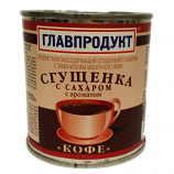 "Condensed Milk ""Coffee"",Glavproduct, 13oz / 380g"