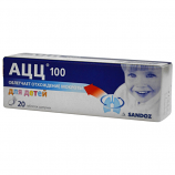 ACC 100 for children (effervescent tablets) 20 Tab