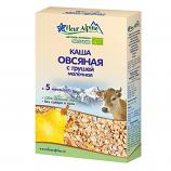 Fleur Alpine GLUTEN FREE Baby Cereal Oatmeal Milk w/ Pear 5 Months+, 6.17 oz/ 175 g