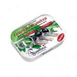 Herring Fillet in Flavored Oils Iceland Style 4.05oz/115g Raptika