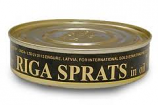 Sprats in oil