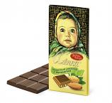 """Milk chocolate bar """"Alenka"""" with almonds 100 g"""
